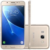 Smartphone Samsung Galaxy J5 Metal 16GB Dourado - Dual Chip 4G Câm 13MP + Selfie 5MP Flash Tela 5.2""