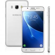 Smartphone Samsung Galaxy J5 Metal Duos J510M, Branco, Tela 5.2, Android 6.0, 13MP, 16GB, 4G+WiFi - Samsung