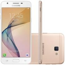 Smartphone Samsung Galaxy J5 Prime 32G Dourado - Dual Chip 4G Câm. 13MP + Selfie 5MP Flash Tela 5