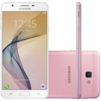Smartphone Samsung Galaxy J5 Prime 32GB Rosa Dual Chip 4G Câm. 13MP + Selfie 5MP Flash Tela 5""