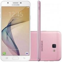 "Smartphone Samsung Galaxy J5 Prime Dual Chip Android 6.0 Tela 5"" 32GB 4G Câmera 13MP- Rosa -"
