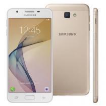 Smartphone Samsung Galaxy J5 Prime Dual Chip Android 6.0 Tela 5 Quad-Core 1.4 GHz 32GB 4G Wi-Fi Câmera 13MP com Leitor de Digital - Dourado - Samsung