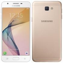 "Smartphone Samsung Galaxy J5 Prime, Dual Chip, Dourado, Tela 5"" 4G+WiFi, Android 6.0.1, 13MP, 32GB -"