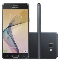 """Smartphone Samsung Galaxy J5 Prime Preto Dual Chip 32GB Tela 5"""" 4G Câmera 13MP Quad Core 1.4 GHz -"""