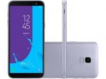 Smartphone Samsung Galaxy J6 32GB Prata - Dual Chip 4G Câm. 13MP + Selfie 8MP Flash