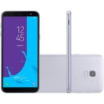 Smartphone Samsung Galaxy J6 64GB Prata - Dual Chip 4G Câm. 13MP + Selfie 8MP Flash