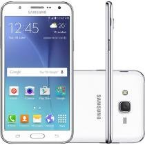 Smartphone Samsung Galaxy J7 Duos 16GB Branco - Dual Chip 4G Câm 13MP + Selfie 5MP Flash Tela 5.5""