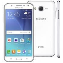 """Smartphone samsung galaxy j7 duos branco com dual chip, tela 5.5"""", 4g, câmera 13mp, android 5.1 e processador octa core de 1.5 ghz -"""