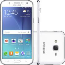 Smartphone Samsung Galaxy J7 Duos J700M, Branco, Tela 5.5, 4G + WiFi, Android 5.0, 13MP, 16GB -