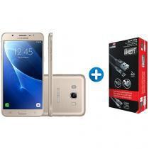 Smartphone Samsung Galaxy J7 Metal 16GB Dourado - Dual Chip 4G Câm 13MP + 2 Cabos Carregadores