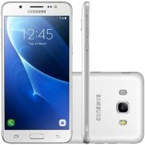 Smartphone Samsung Galaxy J7 Metal Duos J710M, Branco, Tela 5.5, 13MP, 16GB, Android 6.0 - 4G+WiFi -