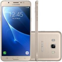 "Smartphone Samsung Galaxy J7 Metal Duos J710M, Dourado, Tela 5.5"", 13MP, 16GB, Android 6.0 - 4G+WiFi - Samsung"