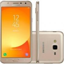 Smartphone Samsung Galaxy J7 Neo Dourado Dual Chip 16GB Tela 5.5 4G Câmera 13 MP Octa-Core 1.6GHz - Samsung