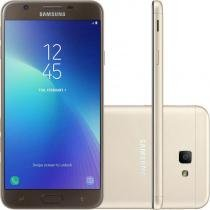 "Smartphone Samsung Galaxy J7 Prime 2 Dourado 32GB Dual Chip com TV Digital HD Tela 5.5"" Camera 13 MP -"