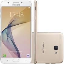 Smartphone Samsung Galaxy J7 Prime 32GB Dourado - Dual Chip 4G Câm 13MP + Selfie 8MP Desbl. Claro