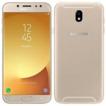 "Smartphone Samsung Galaxy J7 Pro, Dual Chip, Dourado, Tela 5.5"", 4G+WiFi+NFC, Android 7.0, 13MP, 64GB -"