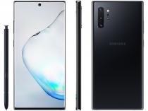 "Smartphone Samsung Galaxy Note 10+ 256GB Preto 4G - 12GB RAM 6,8"" Câm. Quadrupla + Câm. Selfie 10MP"
