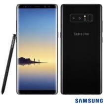 """Smartphone Samsung Galaxy Note 8 Preto 128GB, Tela 6.3"""" Android 7.1, Dual Chip, Caneta S Pen, Dual Câmera Traseira, Processador Octa Core e 6GB RAM -"""