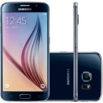 "Smartphone Samsung Galaxy S6 32GB 4G - Android 5.0 Câm. 16MP Tela 5.1"" Proc. Octa Core"