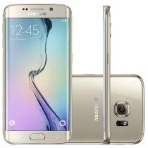 "Smartphone Samsung Galaxy S6 Edge 32GB - 4G Câm. 16MP + Selfie 5MP Tela 5,1"" Octa-Core"