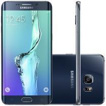 "Smartphone Samsung Galaxy S6 Edge+ 32GB Preto 4G - Câm. 16MP + Selfie 5MP Tela 5.7"" Proc. Octa Core"