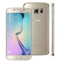 Smartphone Samsung Galaxy S6 Edge+, Octa-Core  2.1GHz, 4G, NFC, 4GB RAM, 32GB Mem, 16MP, Dourado -