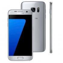 "Smartphone Samsung Galaxy S7, 32GB, 5.1"", Android 6.0, 4G, 12MP - Prata -"
