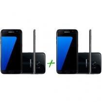 Smartphone Samsung Galaxy S7 Edge 32GB Preto 4G - Câm. 12MP + Smartphone Samsung Galaxy S7 Edge 32GB