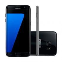 """Smartphone Samsung Galaxy S7 Edge Preto 32GB Octa-Core Tela Curva 5.5"""" 2.3GHz 4G Android 6.0 -"""