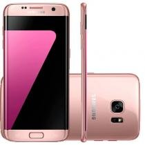 "Smartphone Samsung Galaxy S7 Edge Rose 32GB Octa-Core Tela Curva 5.5"" 2.3GHz 4G Android 6.0 -"
