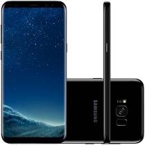"Smartphone Samsung Galaxy S8+128GB Preto Dual Chip - 4G Câm. 12MP+Selfie 8MP Tela 6.2"" Proc. Octa Core"