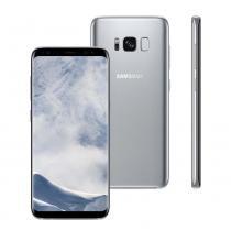 "Smartphone Samsung Galaxy S8, 64GB, 5.8"", Android 7.0, 4G, 12MP - Prata -"