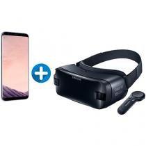 Smartphone Samsung Galaxy S8+ 64GB Ametista Dual - Chip 4G Câm. 12MP + Óculos de Realidade Virtual