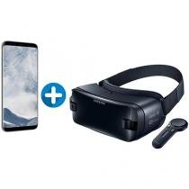 Smartphone Samsung Galaxy S8+ 64GB Prata Dual Chip - 4G Câm. 12MP + Óculos de Realidade Virtual