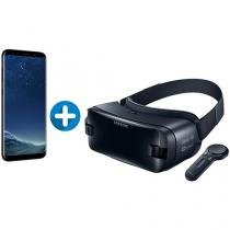 Smartphone Samsung Galaxy S8+ 64GB Preto Dual Chip - 4G Câm. 12MP + Óculos de Realidade Virtual