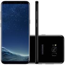 Smartphone Samsung Galaxy S8+ 64GB Preto - Dual Chip 4G Câm. 12MP + Selfie 8MP Tela 6.2