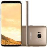 "Smartphone Samsung Galaxy S8, Dourado, G950FD, Tela de 5.8"", 64GB, 12MP - Samsung"
