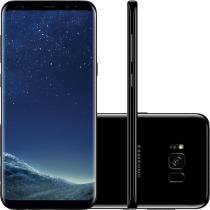 Smartphone samsung galaxy s8 dual   5.8 64gb 4g 12mp - preto -