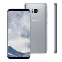 "Smartphone Samsung Galaxy S8 Plus, 64GB, 6.2"", Android 7.0, 4G, 12MP - Prata -"