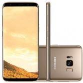 """Smartphone Samsung Galaxy S8 Plus, Dourado, G955FD, Tela de 6.2"""", 64GB, 12MP - Samsung"""