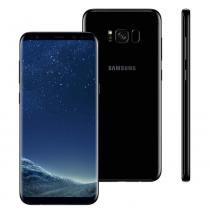 Smartphone Samsung Galaxy S8 Plus SM-G955FD Preto Dual Chip Android 7.0 4G Wi-Fi com Tela Infinita de 6,2 128GB -