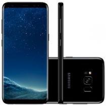 "Smartphone Samsung Galaxy S8, Preto, G950FD, Tela de 5.8"", 64GB, 12MP -"