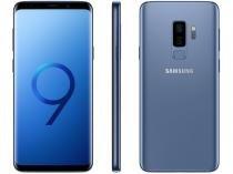 "Smartphone Samsung Galaxy S9+ 128GB Azul Dual Chip - 4G Câm. 12MP e 12MP + Selfie 8MP Tela 6,2"""