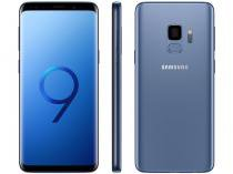 "Smartphone Samsung Galaxy S9 128GB Azul Dual Chip - 4G Câm. 12MP + Selfie 8MP Tela 5,8"" Quad HD+"