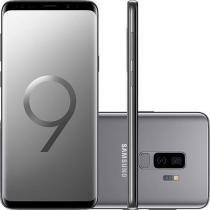 "Smartphone Samsung Galaxy S9+ Cinza Dual Chip Android 8.0 Tela 6.2"" Octa-Core 2.8GHz 128GB 4G Câmera -"