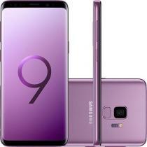 "Smartphone Samsung Galaxy S9 Ultravioleta Dual Chip Android 8.0 Tela 5.8"" Octa-Core 2.8GHz 128GB 4G -"