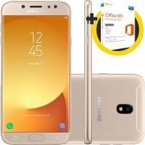 Smartphone Samsung J730G Galaxy J7 Pro Dourado 64 GB + Microsoft Office 365 Personal QQ2-00481 1TB -