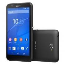 Smartphone Sony Xperia E4 8GB Tela 5 Android 4.4 Câmera 5MP Dual Chip -