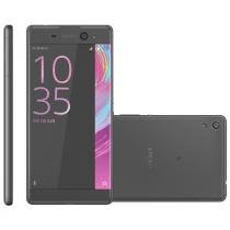 Smartphone sony xperia e5, single chip, 16gb, 13mp, 4g, preto - f3313 - Sony
