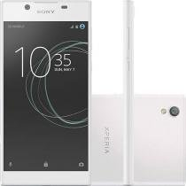 Smartphone Sony Xperia L1 G3312 com 16GB, Tela 5.5 HD, Dual Chip, Câmera 13MP, 4G, Android 7.0, Processador Quad-Core e 2GB RAM - Branco -